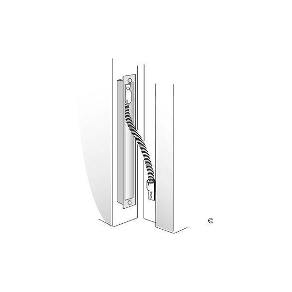ASSA Abloy EA280 Karmoverføring 287 mm, blankkrom