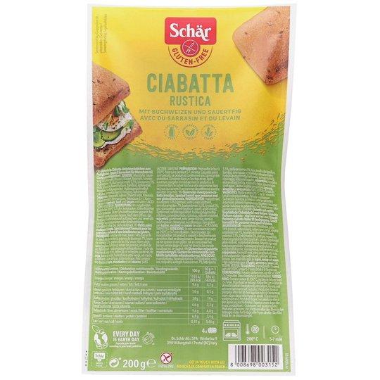 Glutenfritt Bröd Ciabatta - 38% rabatt
