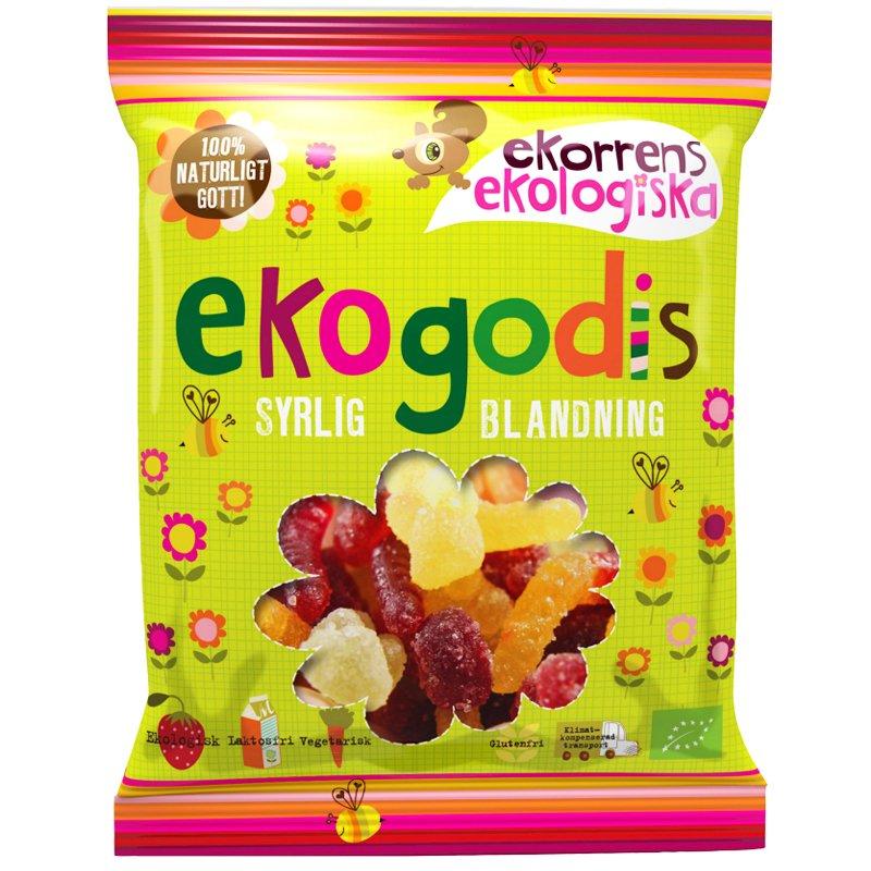 Eko Godis Syrlig blandning 100g - 60% rabatt