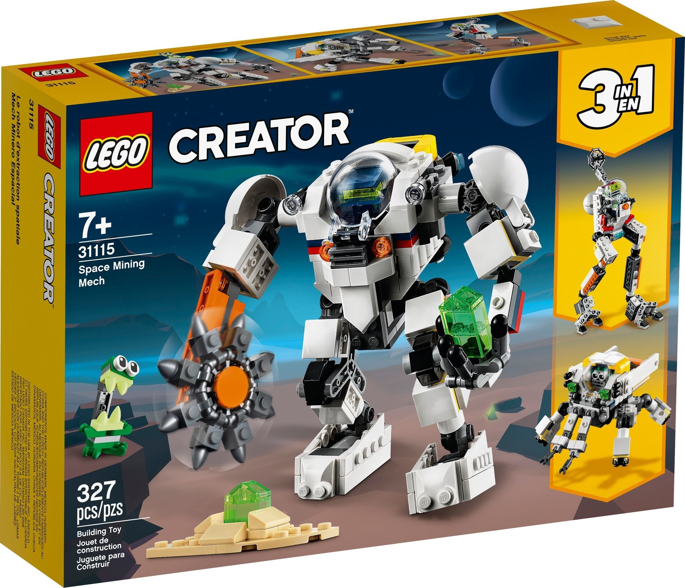 LEGO Creator - Space Mining Mech (31115)