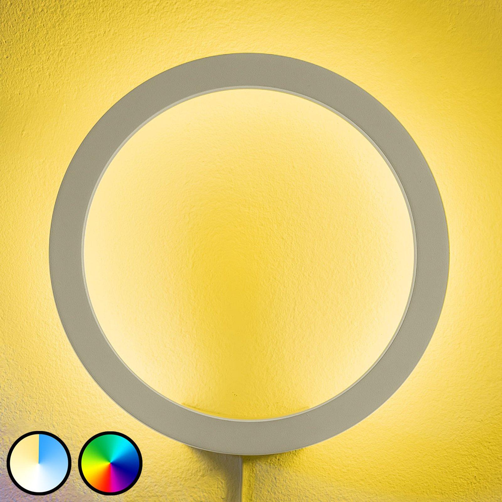 Philips Hue Sana LED-vegglampe, RGBW, hvit