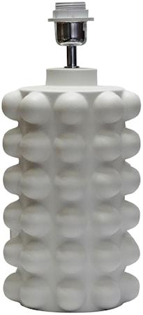 Bubbels Lampfot Vit 38 cm