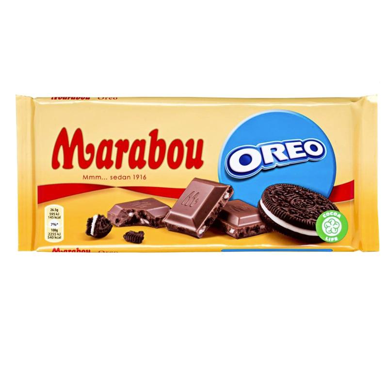 Suklaalevy Marabou Oreo - 40% alennus