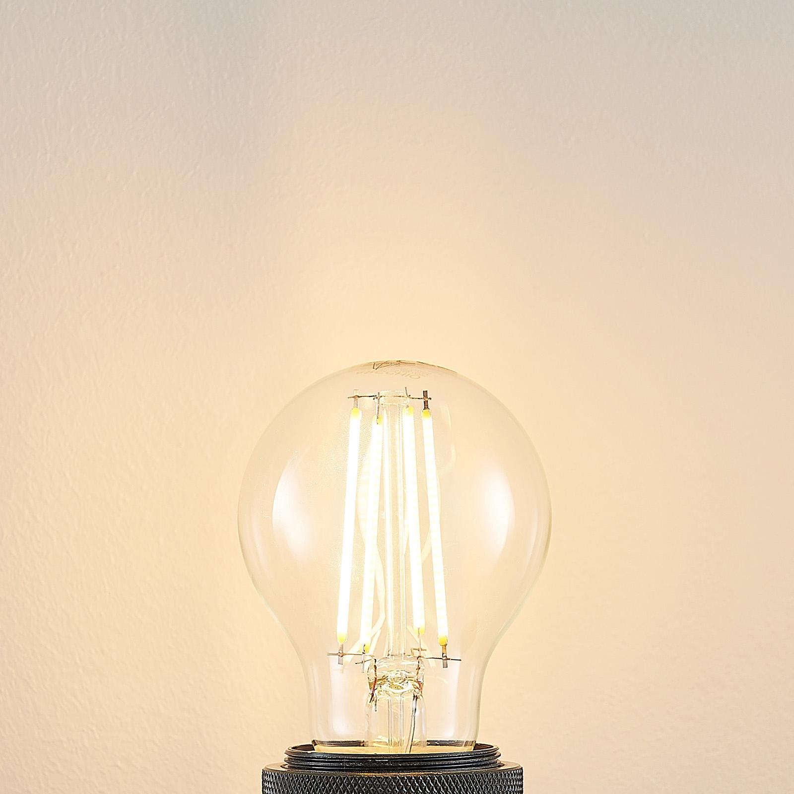 LED-lamppu E27 A60, 6,5 W 2 700 K kirkas
