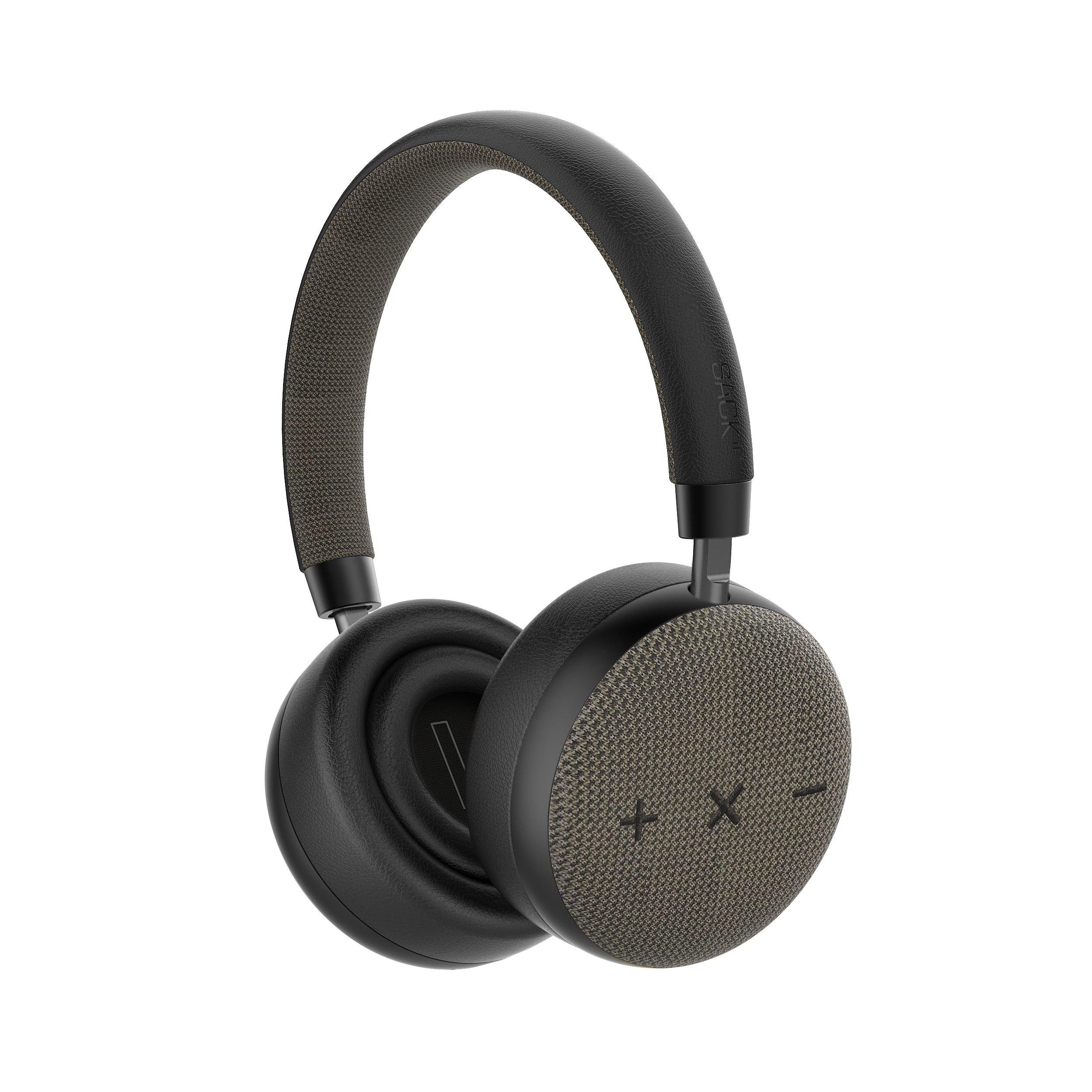 SACKit - TOUCHit S On-Ear Headphones - Black