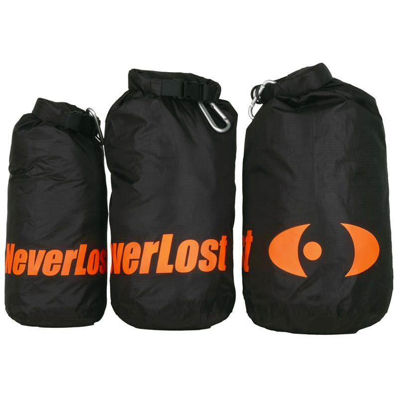 Neverlost Hitra Dry Bags Set Vanntette pakkeposer i 4, 6 og 8 liter