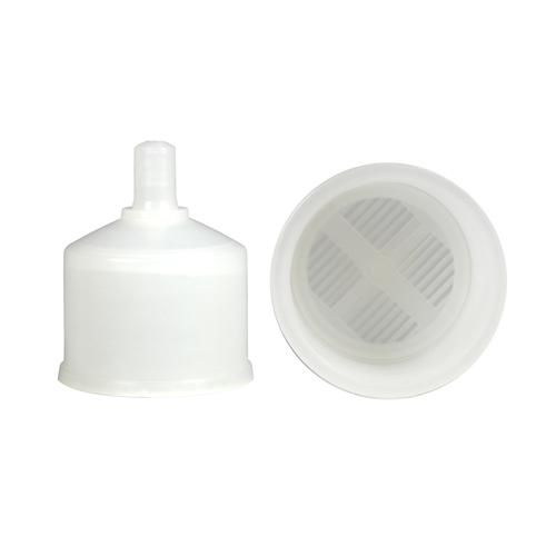 Rörunderdel till 40 mm plaströr med sil
