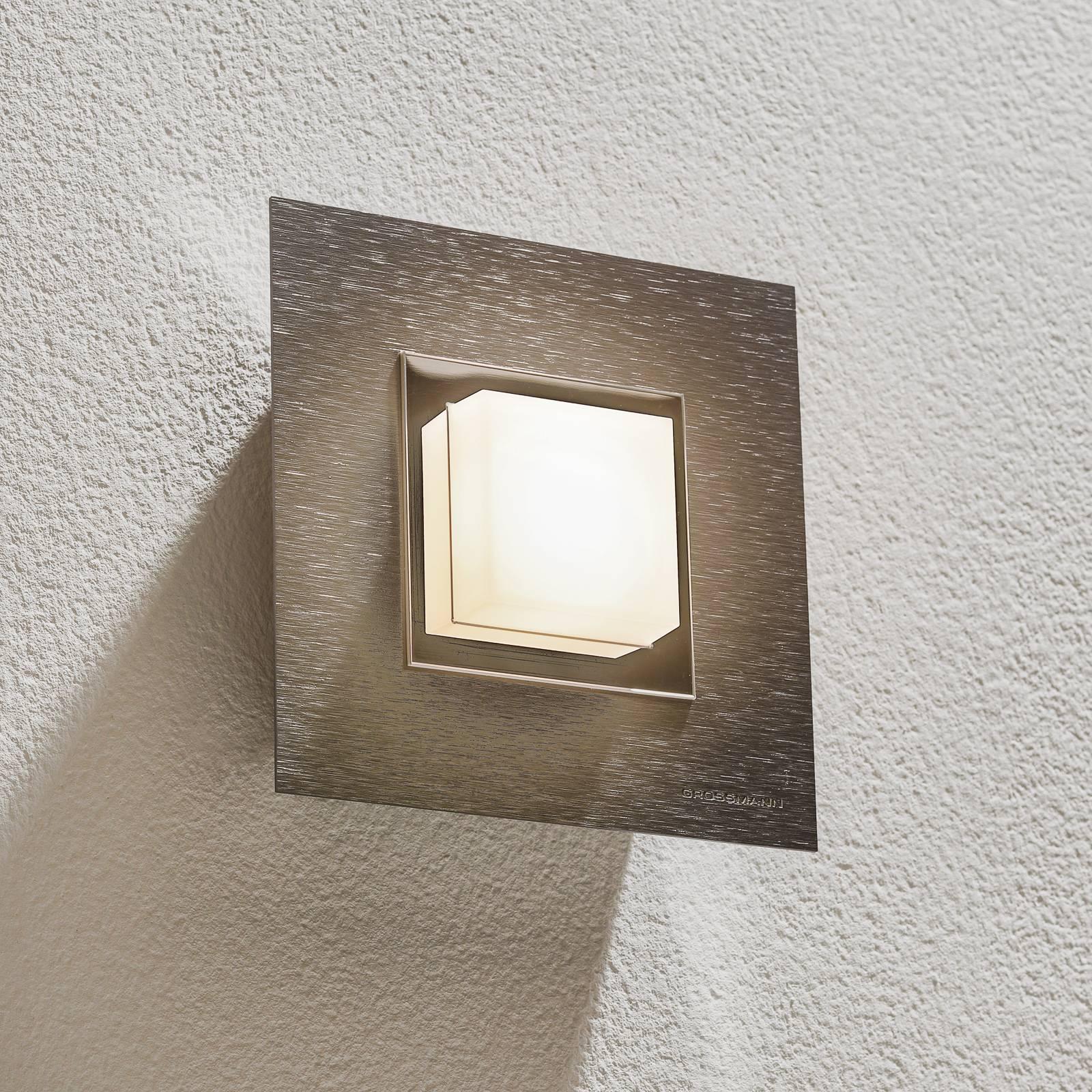 GROSSMANN Basic -seinävalaisin 1-lamppuinen