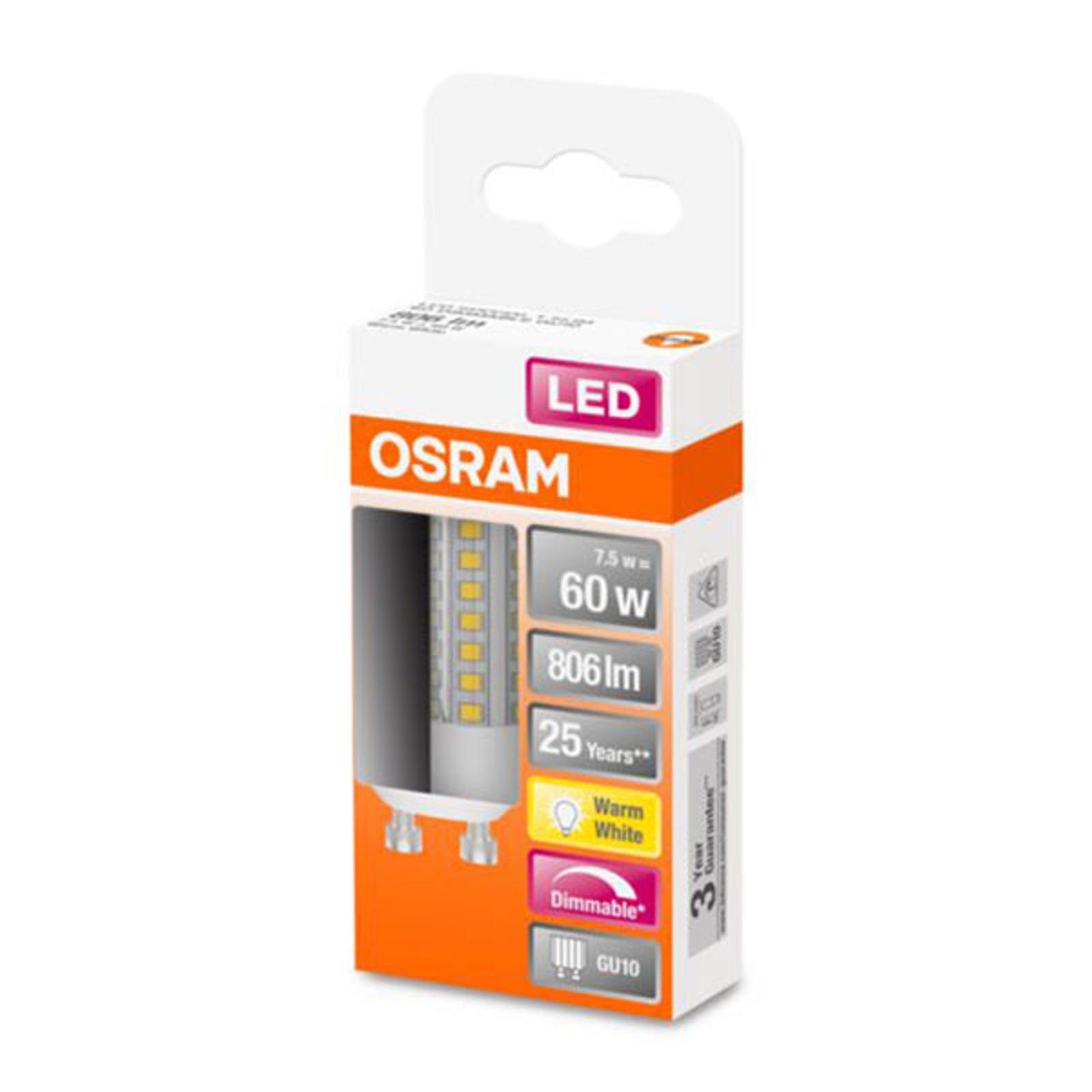 OSRAM-LED-lamppu Special T GU10 7,5W 2 700 K dim