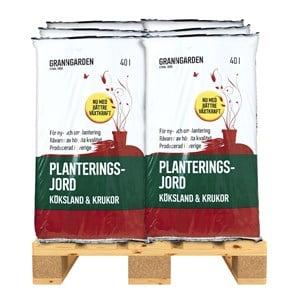 Planteringsjord Granngården 2160 L Pall 54 säckar (Hemleverans)