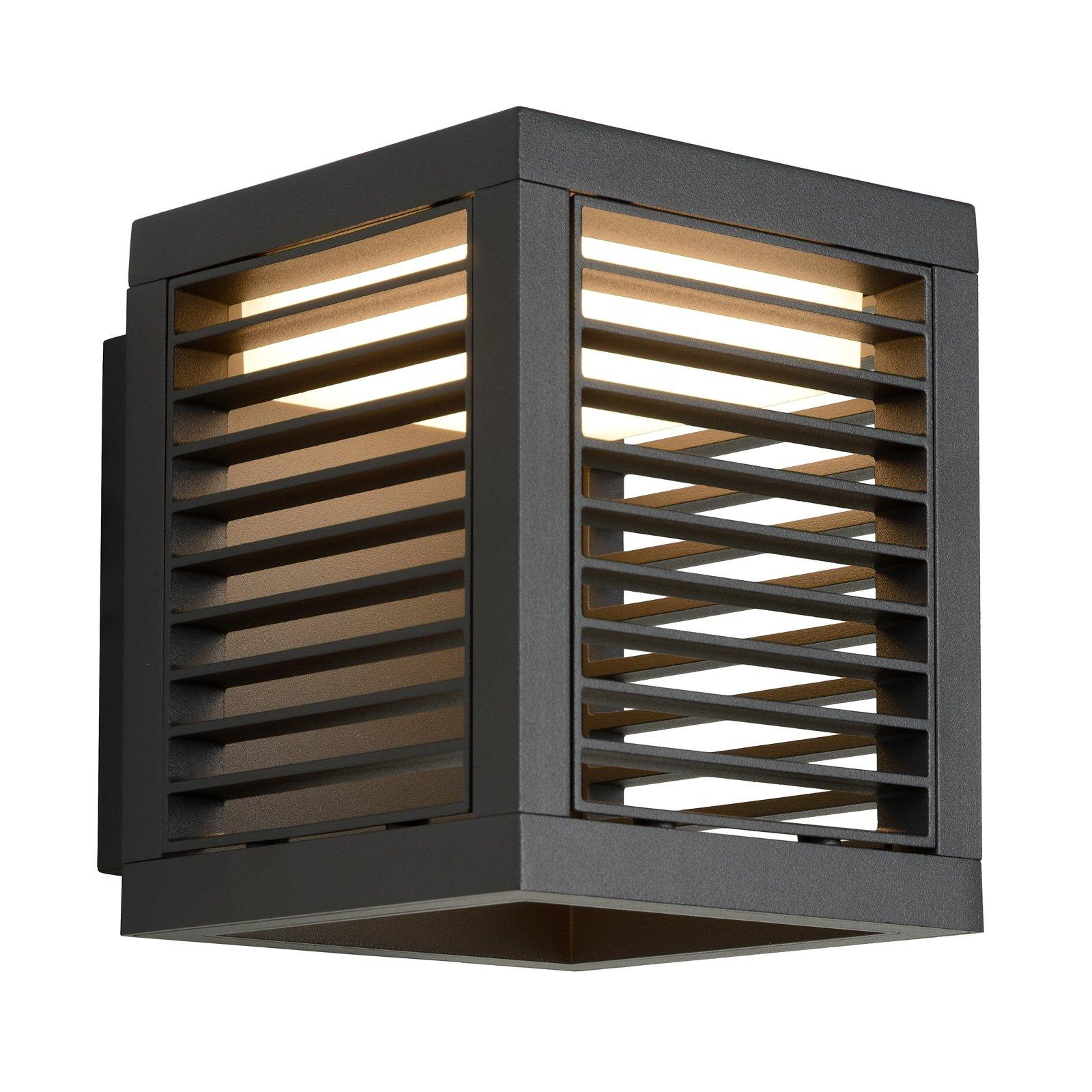 Slits LED-vegglampe utendørs IP54 antrasitt