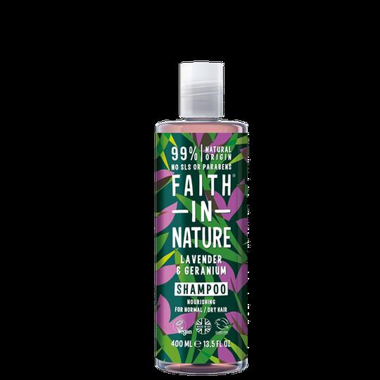 Lavender & Geranium Shampoo, 400 ml