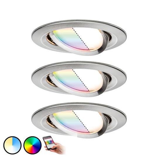 Paulmann Smart Friends Spot Nova Plus 3 kpl RGBW