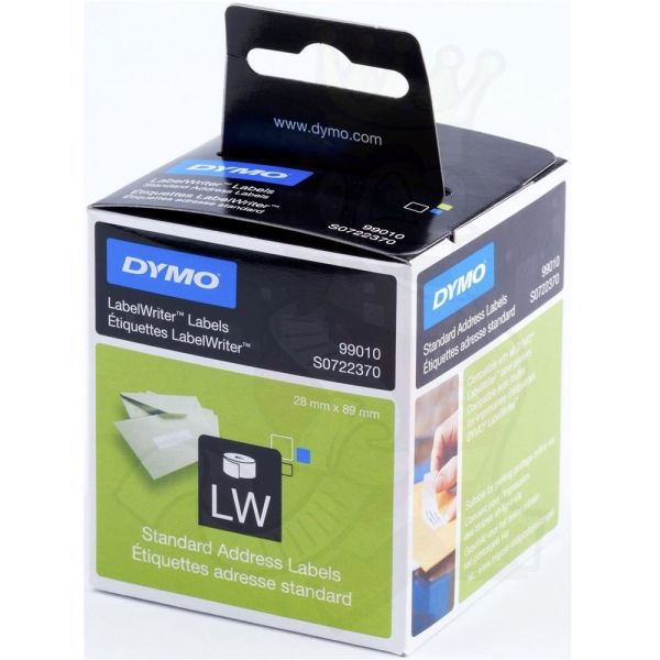 DYMO LW Standard Adresseetikett 28x89mm