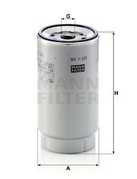 Polttoainesuodatin MANN-FILTER WK 11 003 z