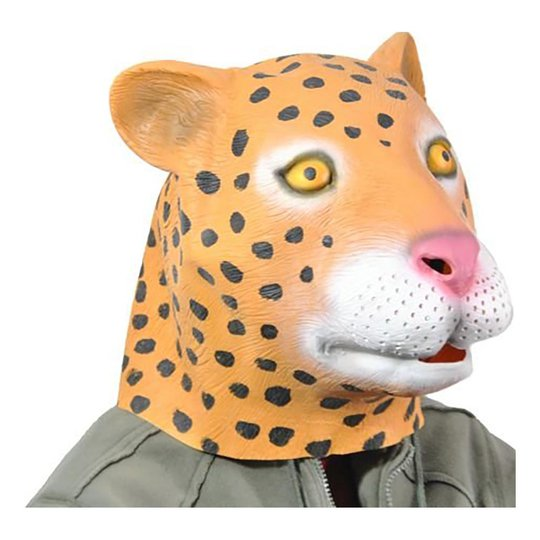 Panther Latexmask - One size