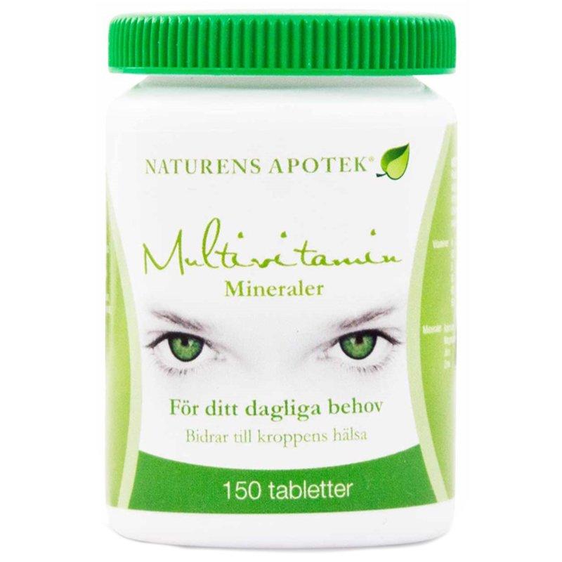 Lisäravinne multivitamiini 150 kpl - 44% alennus