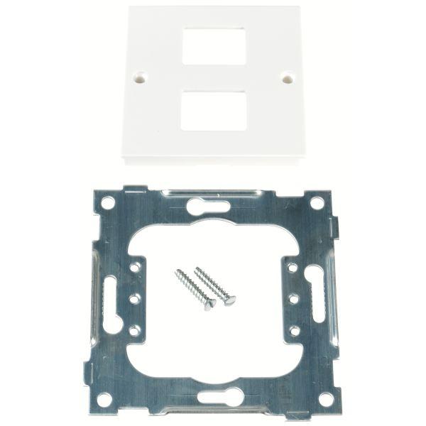 Elko EKO09702 Midtlokk IBM, midtplate 2 koblinger