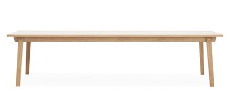 Slice Bord Eik 90x300 cm