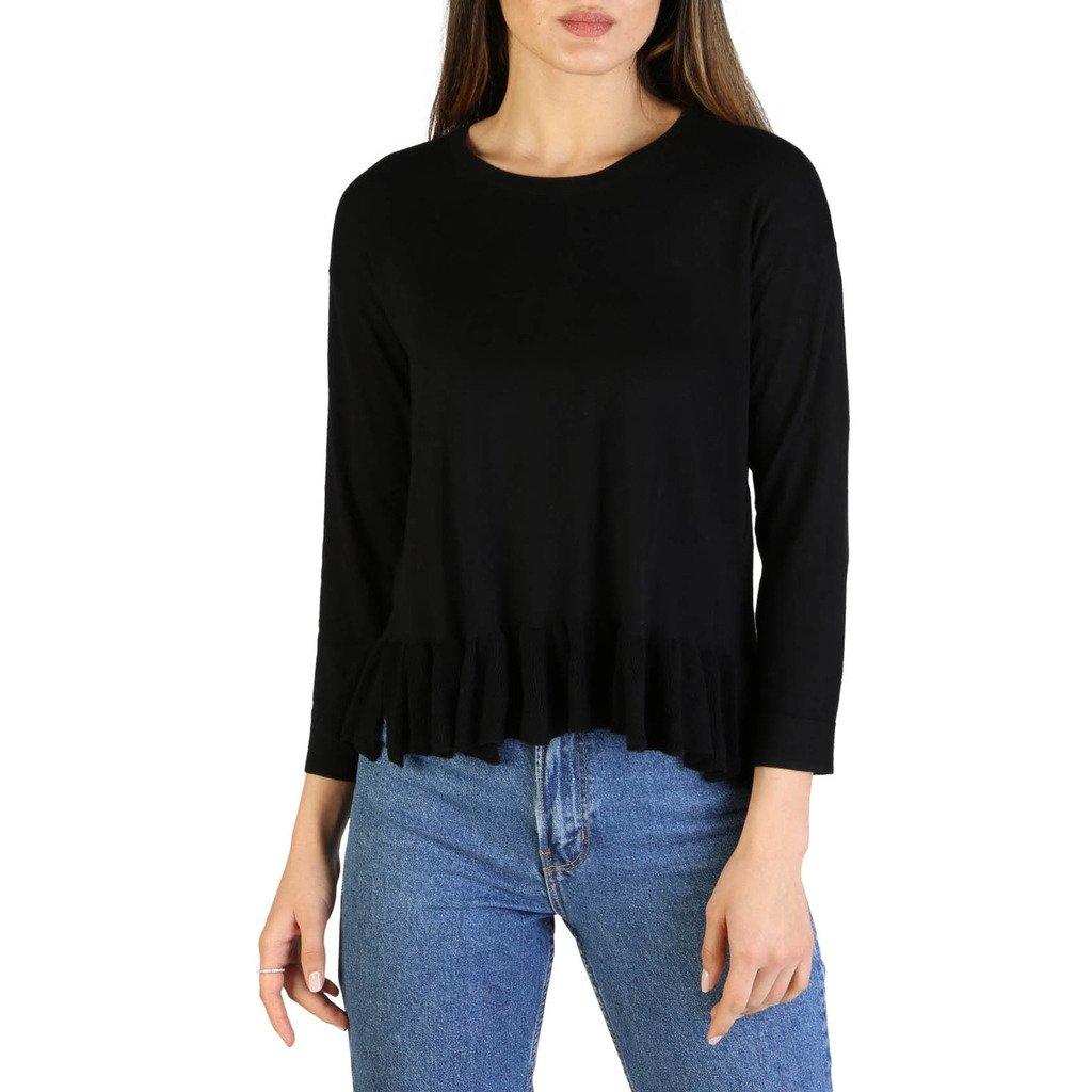 Armani Exchange Women's Sweater Black 3ZYM1C_YMA9Z - black L