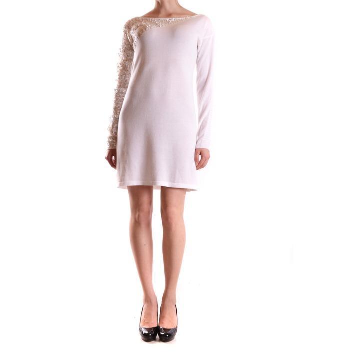 Pinko Women's Dress White 160980 - white S