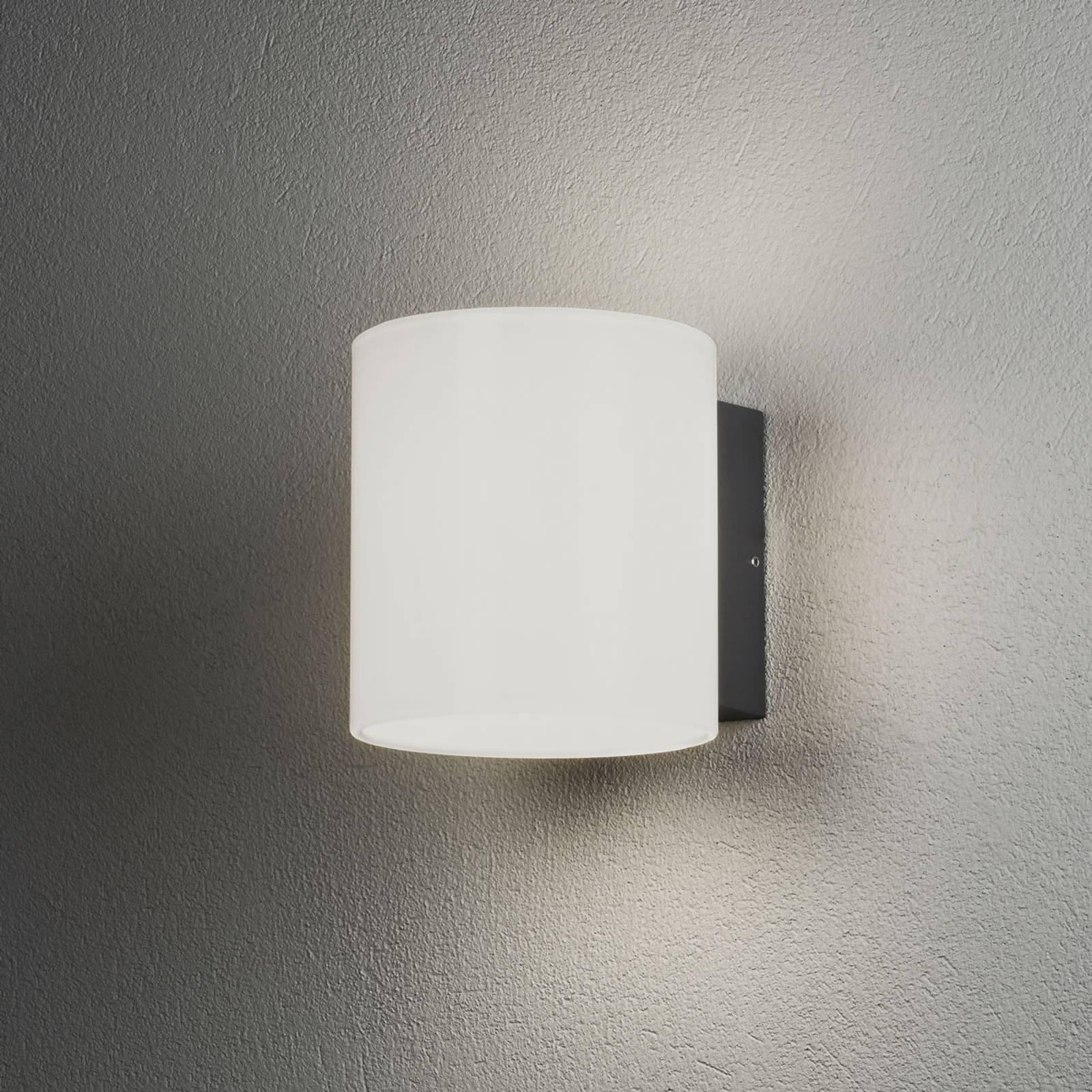 Foggia utendørs LED-vegglampe, 2 lyskilder