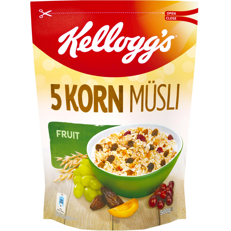 "Müsli ""5-Korn Fruit"" 500g - 57% rabatt"