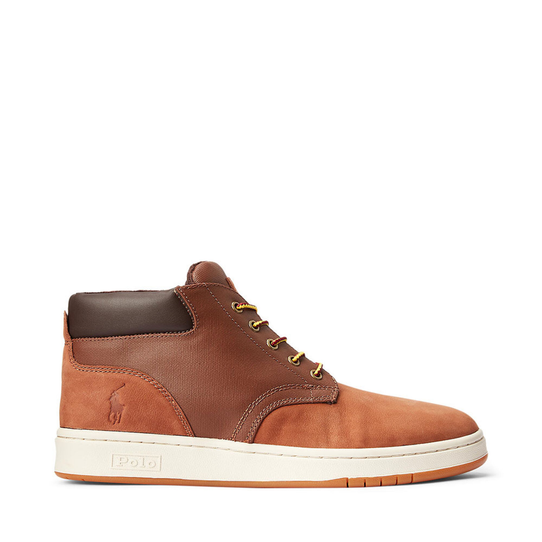 Nubuck & Canvas Sneaker Boot