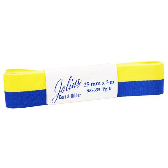 Sverigeband 25mm - 80% rabatt