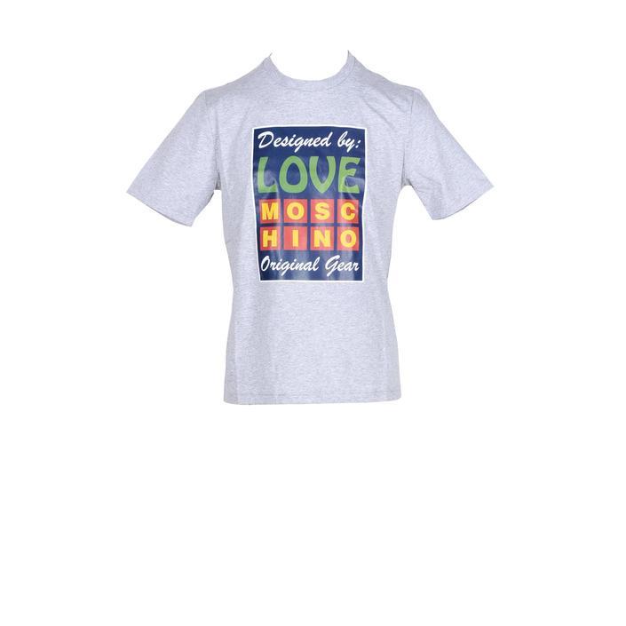 Love Moschino Men's T-Shirt Various Colours 259064 - grey M