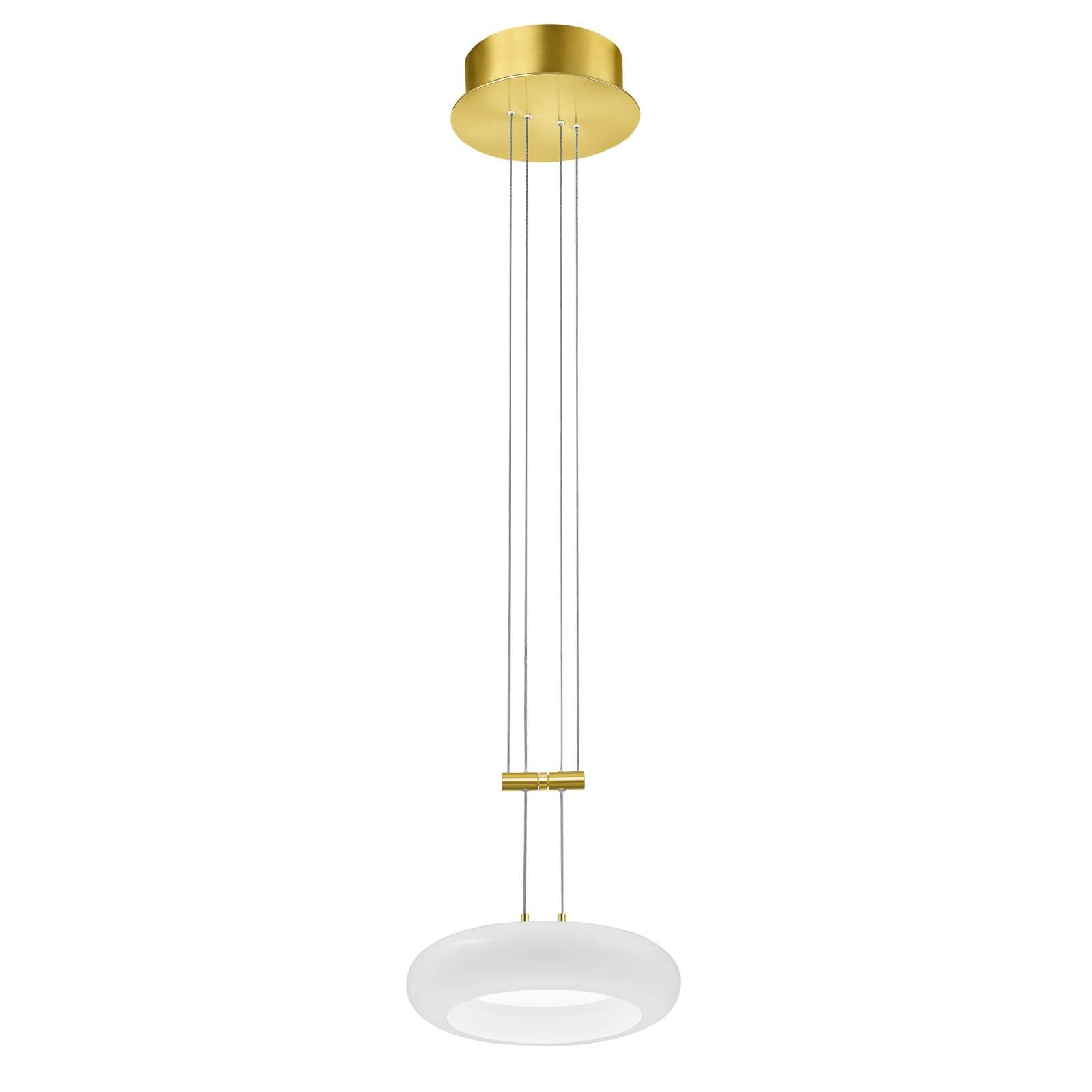 BANKAMP Centa riippuvalaisin 1-lamp 20 cm messinki