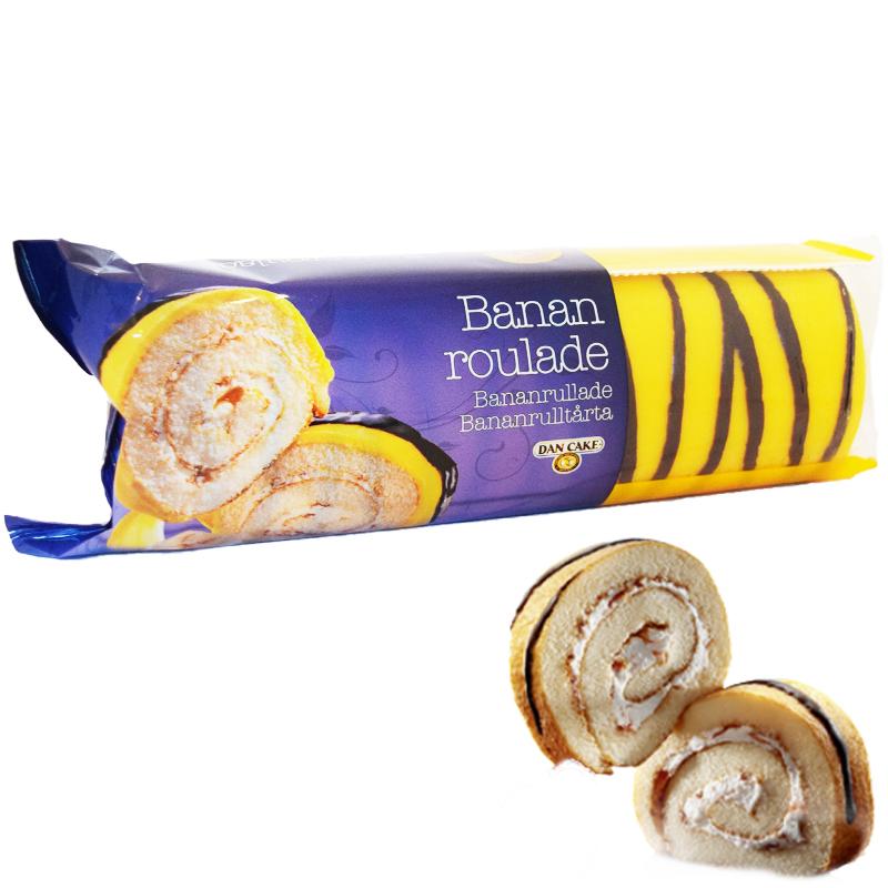 Rulltårta Banan 350g - 70% rabatt