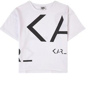 Karl Lagerfeld Kids Logo T-shirt Vit 5 år