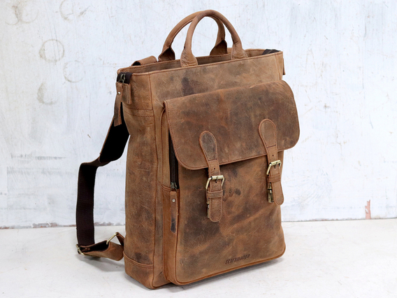 Mens Leather Tote Bag