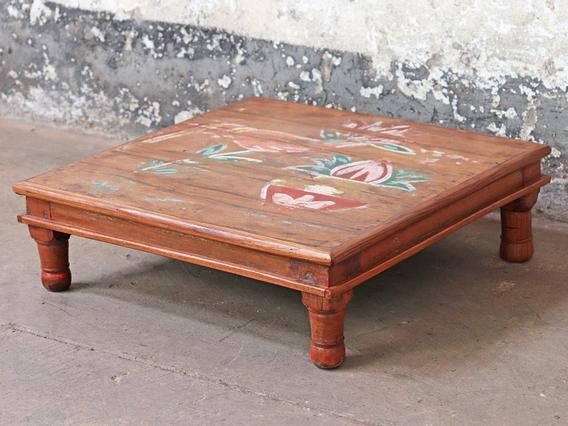 Ornate Low Side Table Medium