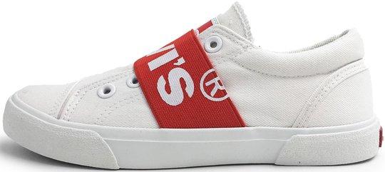 Levi's Bermuda Elastic Sneaker, White 30