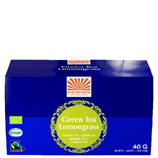 Grönt Te Citrongräs, 20 påsar