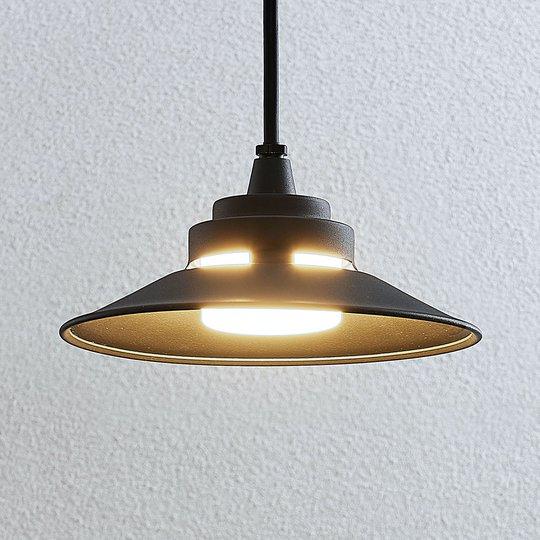 LED-ulkoseinävalaisin Cassia, tummanharmaa