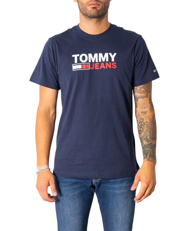 Tommy Hilfiger Jeans Men's T-Shirt Various Colours 304989 - blue XS