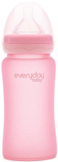 Everyday Baby Tåteflaske 240 ml, Rose Pink
