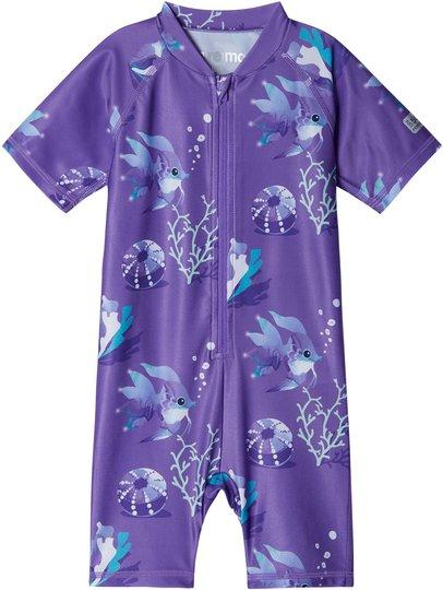 Reima Atlantti UV-Drakt UPF50+, Vivid Violet, 74