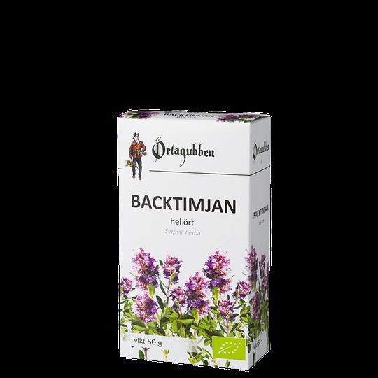 Backtimjan, 50 g