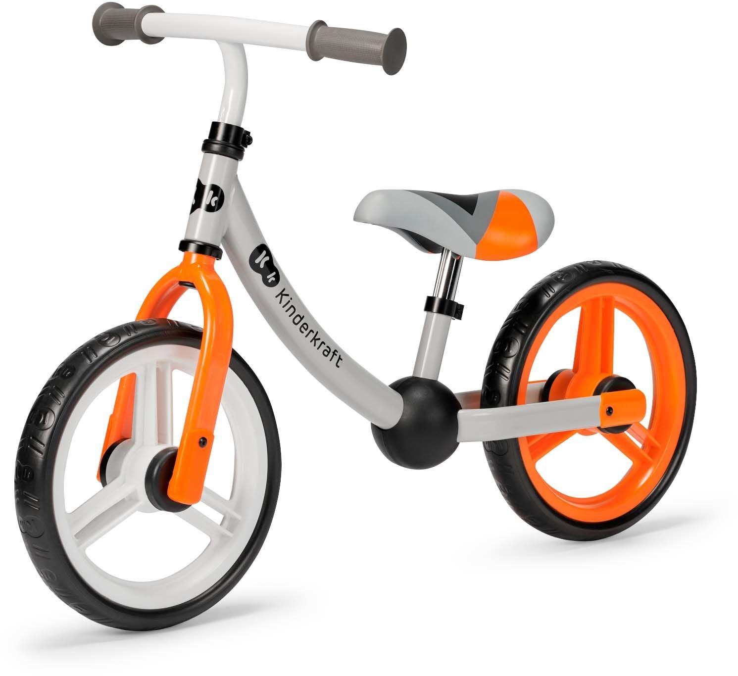 Kinderkraft Springcykel 2 Way Next, Orange