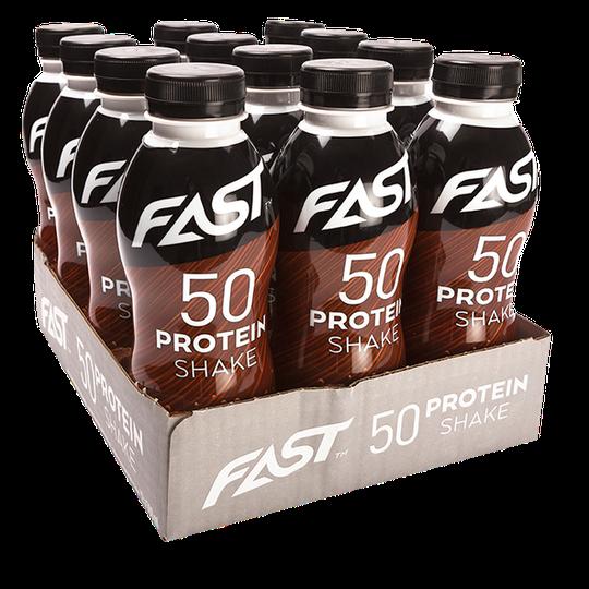 12 x Protein 50 shake, 500 ml