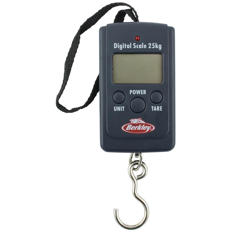 Berkley Digital Pocket Skale 25kg Batteri inkludert!