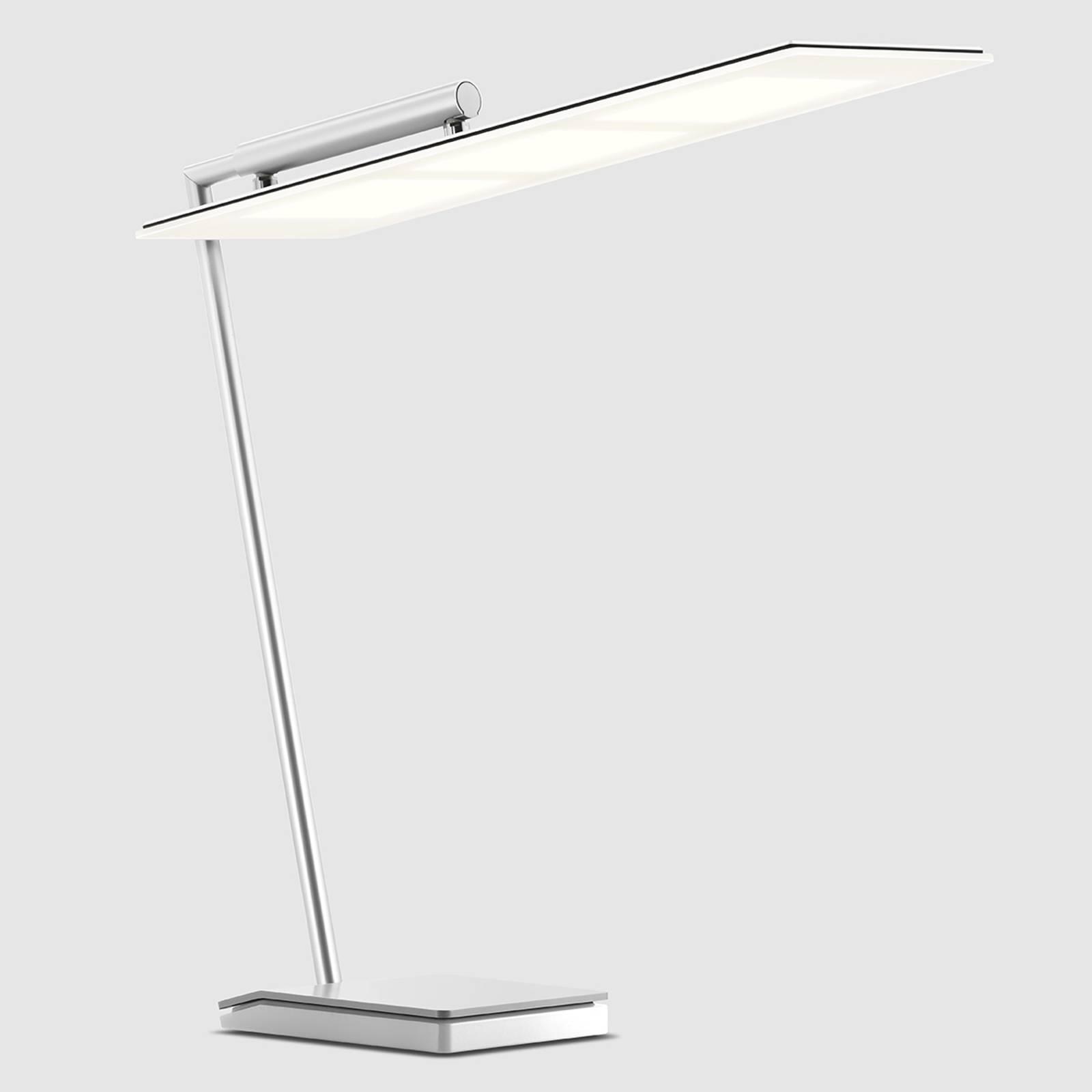 Valkoinen OMLED One d3 -OLED-työpöytävalaisin