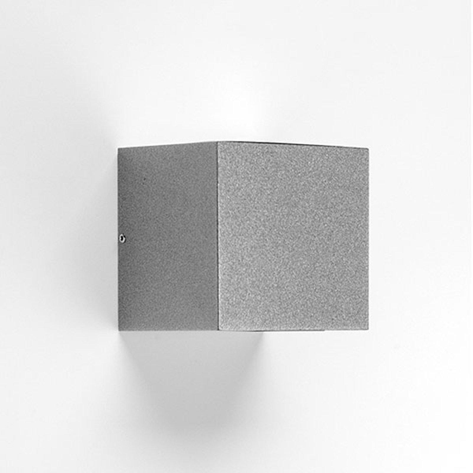LED-vegglampe 303348 i grå, 4WB 3 000 K