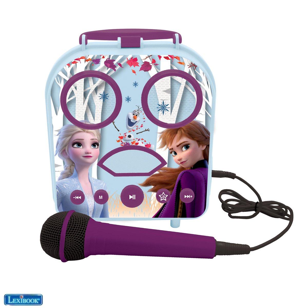 Lexibook - My Secret Portable Karaoke Frozen (BTC050FZ)
