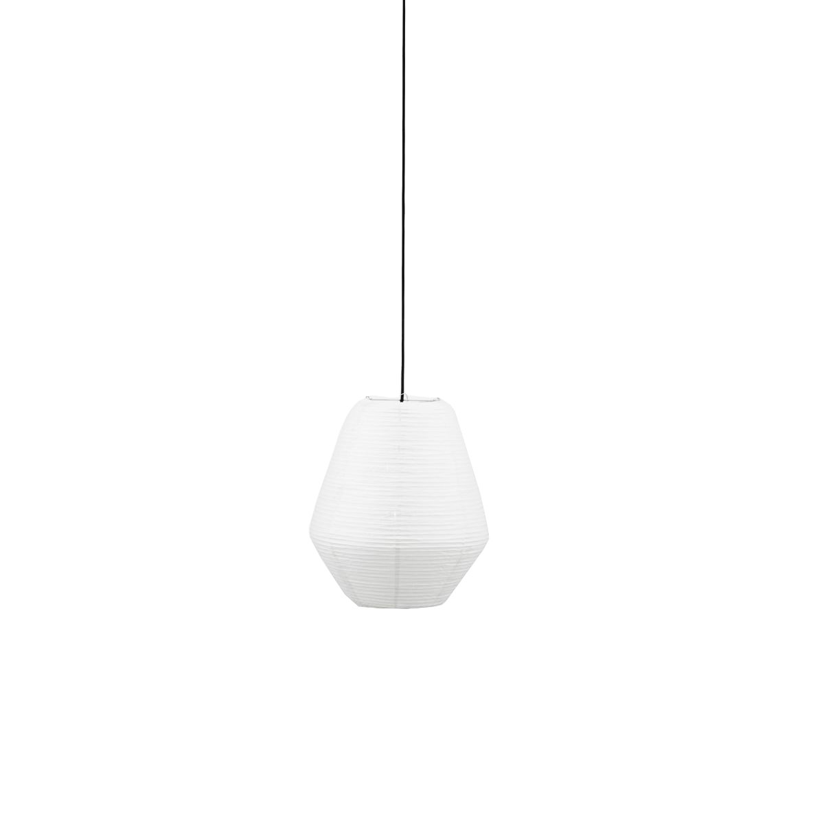 House Doctor - Bidar Lamp Shade Ø 36 cm - White (259370102)