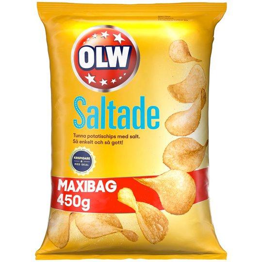 Chips Lättsaltade Maxibag - 37% rabatt